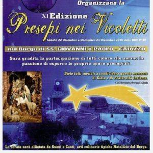 Presepi nei Vicoletti - XI edizione