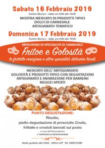 Fritoe e Golosità - mercatino di specialità di Carnevale