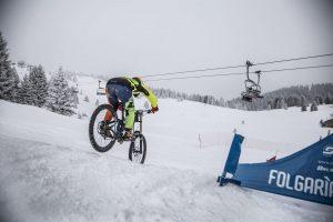 Boardercross Bike Race