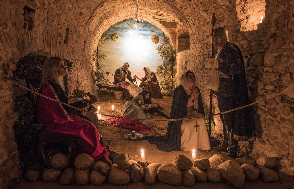 Quadri Viventi di Pasqua del Terziere Borgo Dentro
