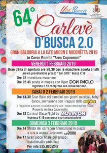 64° Carlevè 'd Busca - Carnevale di Busca