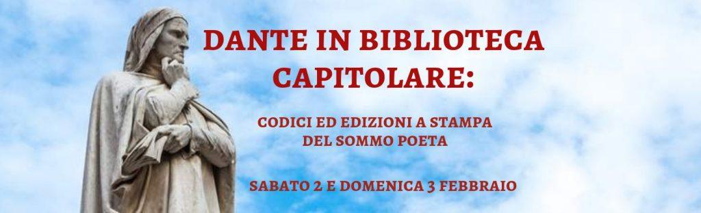 Dante in Biblioteca Capitolare