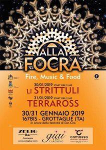 ALLA FOCRA. Fire, Music & Food - edizione 2020