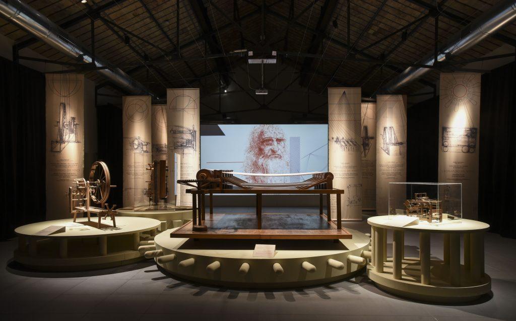 Leonardo Da Vinci. L'Ingegno, il Tessuto