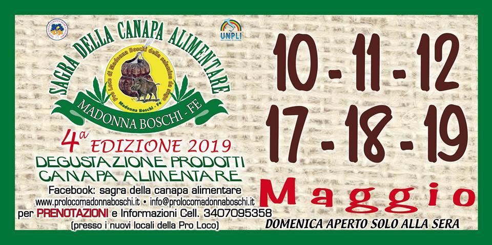 Sagra della Canapa Alimentare - 4° edizione
