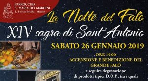 14° Sagra di Sant'Antonio - La Notte dei Falò