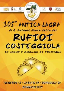 Sagra dei Rufioi di Costeggiola - 105° edizione