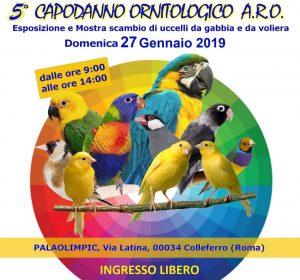 Capodanno Ornitologico ARO 2019