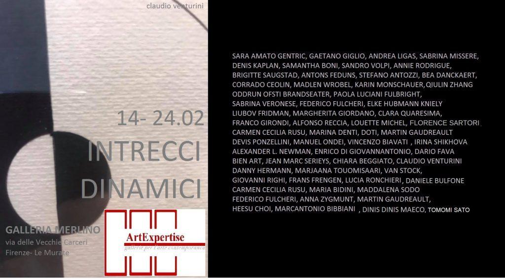 Intrecci Dinamici - collettiva di arte contemporanea