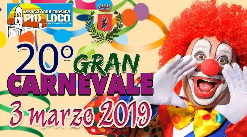 Gran Carnevale di San Bartolomeo in Galdo