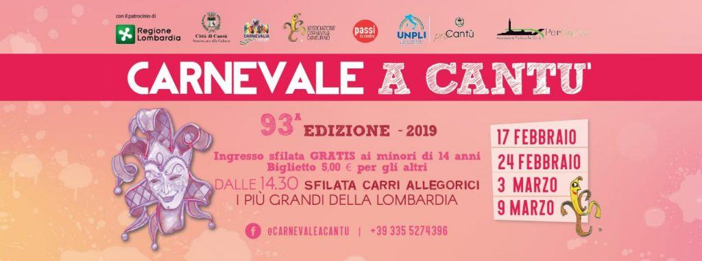Carnevale Canturino - 93° edizione