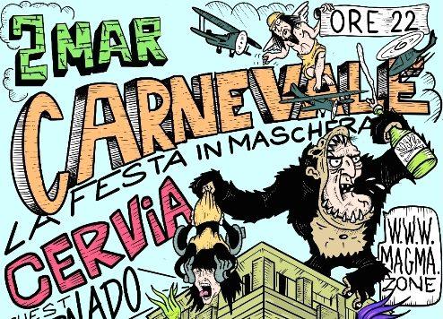 Carnevale in Maschera a Cervia