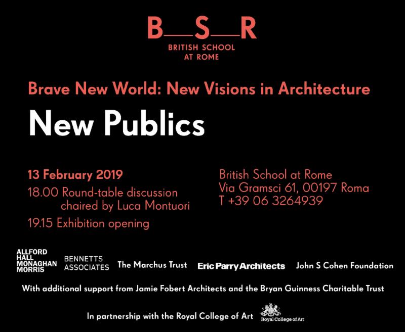New Publics - mostra di architettura e design