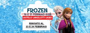 Frozen al Castello Lancellotti