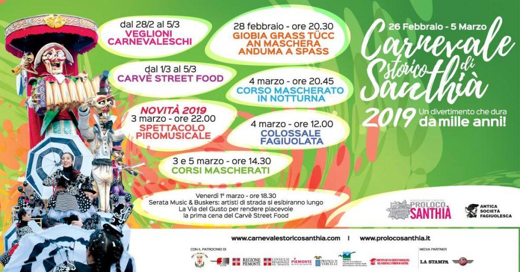 Carnevale Storico Santhià 2019