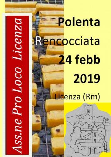 Sagra della Polenta Rencocciata - 26° edizione