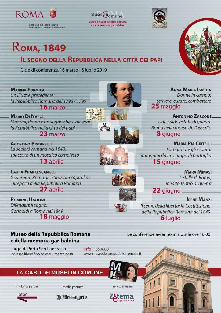 Roma, 1849. Il Sogno della Repubblica nella Città dei Papi