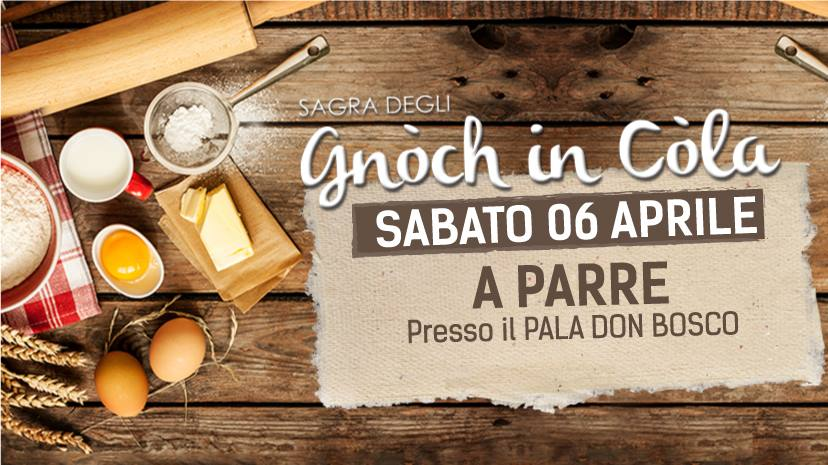 Sagra degli Gnòch in Còla - 4° edizione