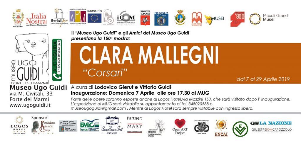 Corsari - personale di Clara Mallegni
