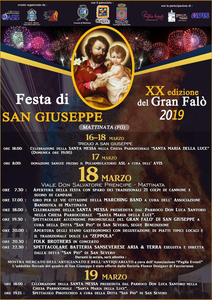 Festa di San Giuseppe - 20° edizione Gran Falò