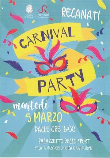 Carnival Party a Recanati
