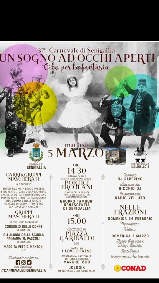 Un Sogno ad Occhi Aperti - 37° Carnevale di Senigallia