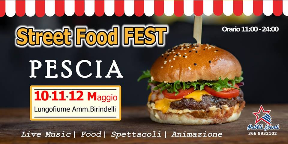 Pescia Street Food Fest