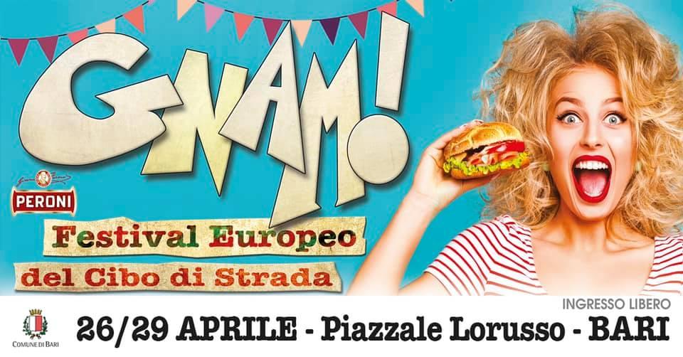 GNAM! Festival Europeo del Cibo di Strada - Bari