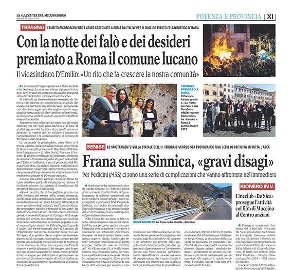 La Gazzetta del Mezzogiorno (ed. Basilicata)