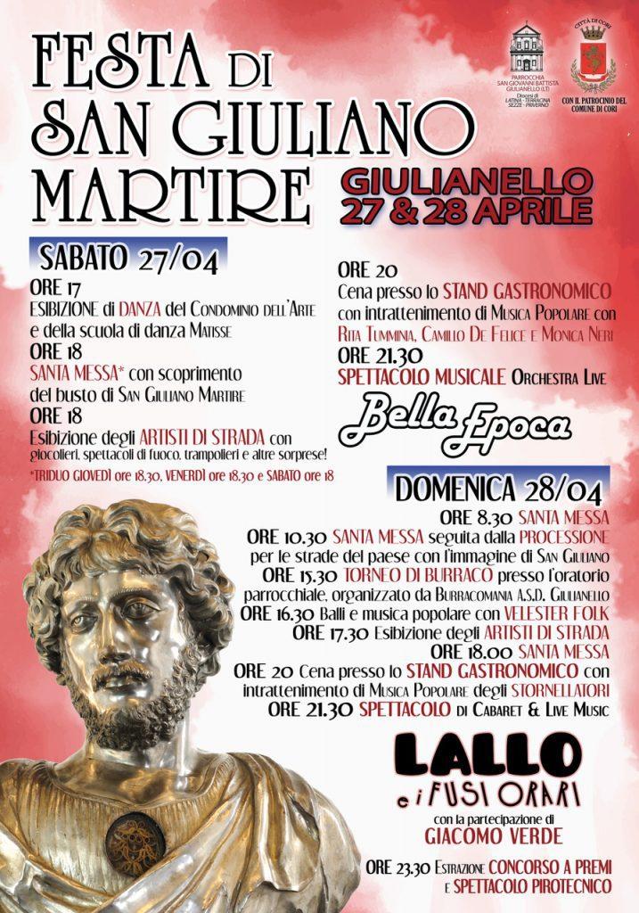 Festa di San Giuliano Martire 2019