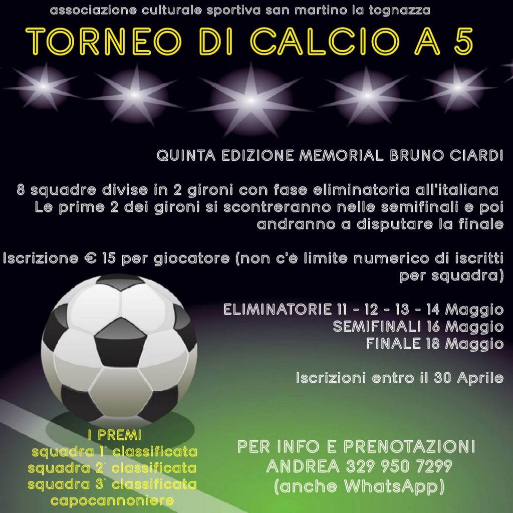 Memorial Bruno Ciardi - 2° edizione