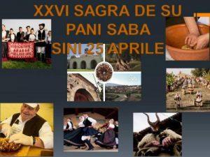 Sagra de Su Pani Saba - 26° edizione