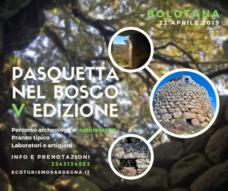 Pasquetta nel Bosco 2019 a Bolotana