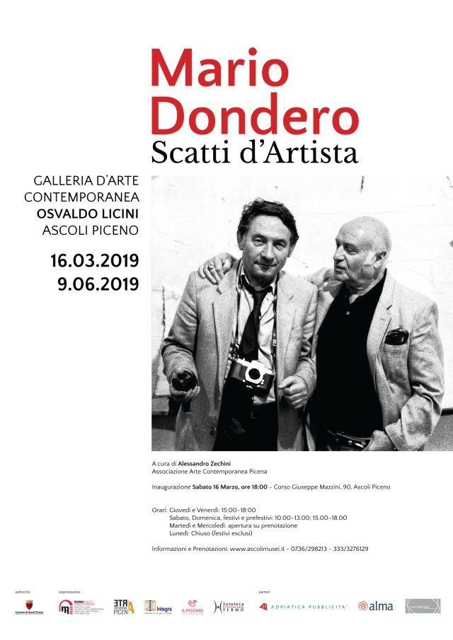 Mario Dondero. Scatti d'Artista
