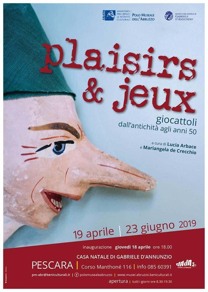 Plaisirs et Jeux. Giocattoli dall'Antichità agli Anni 50