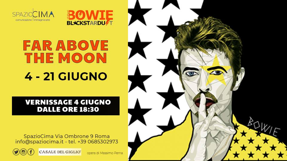 FAR ABOVE THE MOON - Tributo a David Bowie
