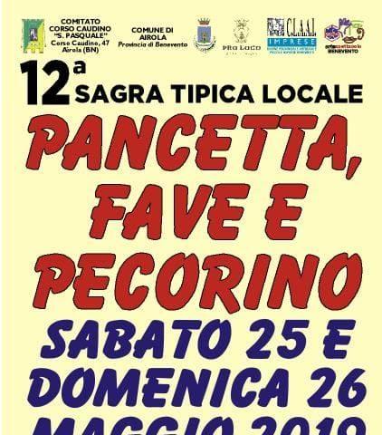 Sagra della Pancetta, Fave e Pecorino - 12° edizione