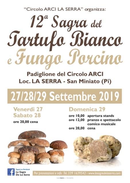 Sagra del Tartufo Bianco e Fungo Porcino - 12° edizione
