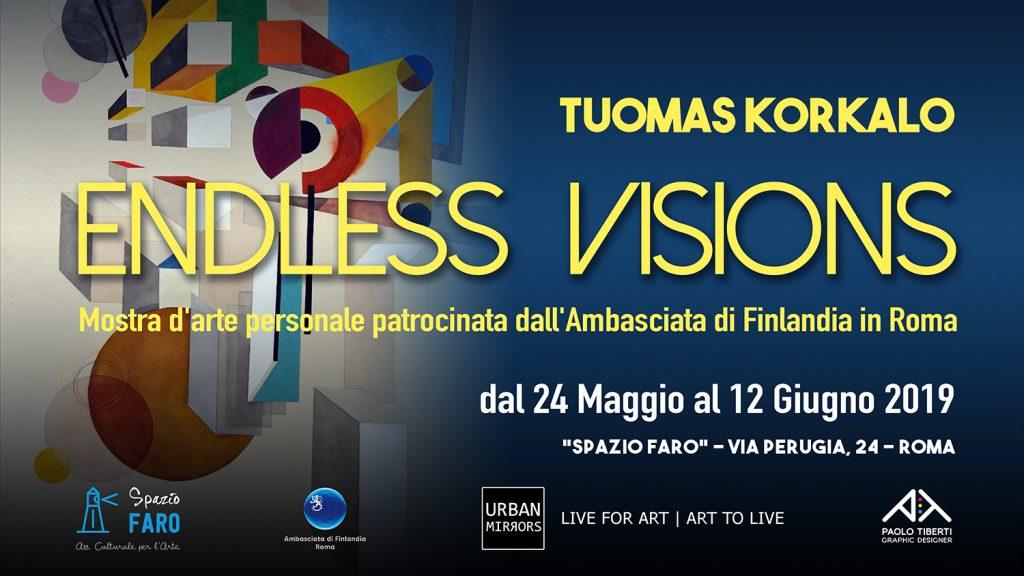 Endless Visions - personale di Tuomas Korkalo