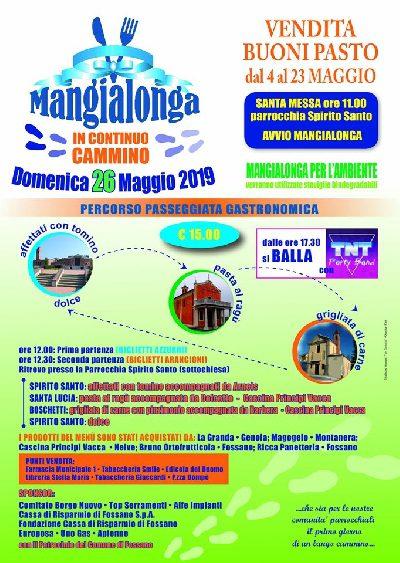 MANGIALONGA 2019