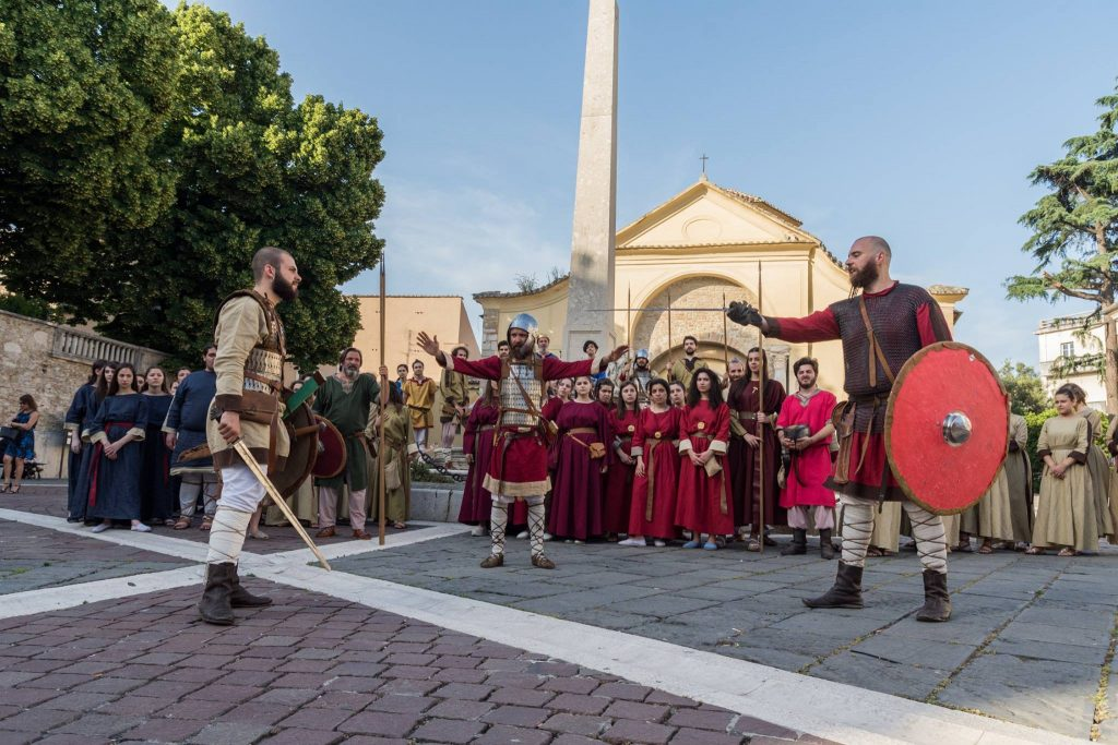 Benevento Longobarda - La Contesa di Sant'Eliano