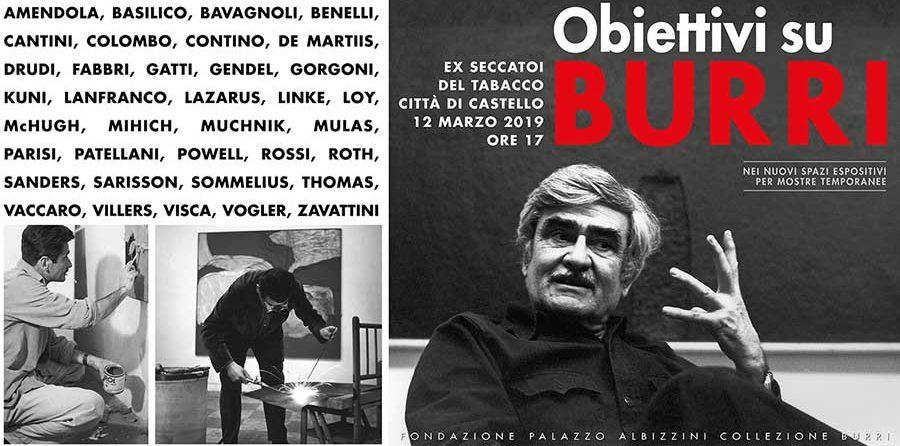 Obiettivi su Burri. Fotografie e Fotoritratti dal 1954 al 1993