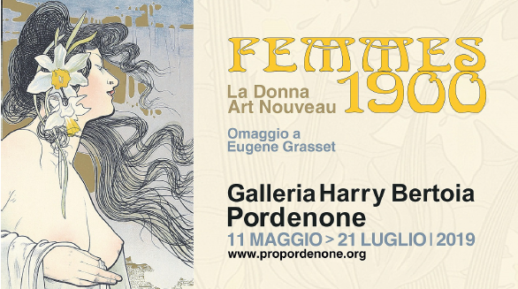 FEMMES 1900, la Donna Art Nouveau. Omaggio a Grasset