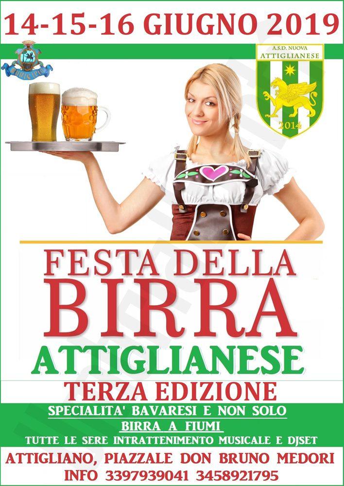 Festa della Birra Attiglianese - 3° edizione