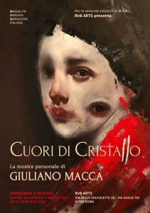 Cuori di Cristallo - personale di Giuliano Macca