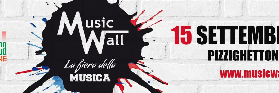 MUSIC WALL. La Fiera della Musica - 7° edizione