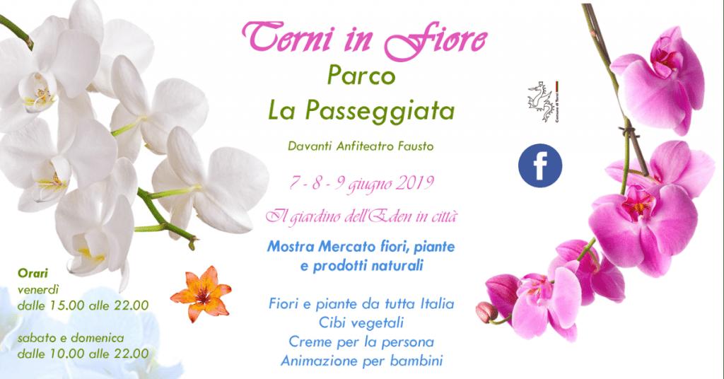 Terni in Fiore 2019 - Piante, Fiori e Prodotti Naturali