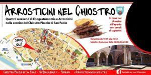 Arrosticini nel Chiostro