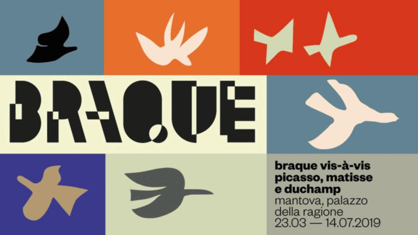 BRAQUE VIS-À-VIS. Picasso, Matisse, Duchamp