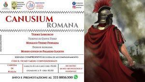 CANUSIUM ROMANA. A Spasso fra le Vestigia Imperiali